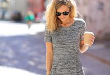 Looks I love - Summer / street style and more Kleider dress boyfriend Jeans t-shirt Mode