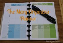 Get organized / Tips and ideas to get organized