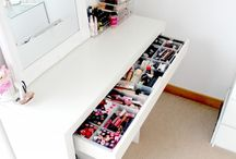 Makeup storage ideas