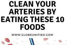 Arteries Cleaning Foods