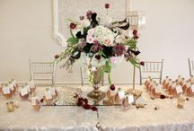 Alison and Mike / April 02 2016 Wedding at Paradise Banquet Hall Vaughan. Rustic Romantic. Marsala, Blush, Green, champagne, taupe.