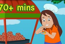 Nursery Rhymes 70 Minutes / Nursery rhymes for children, toddlers, kids and babies. 70 minutes of all your favorites including Hot Cross Buns, Twinkle Twinkle Little Star, Bingo, Wheels on the Bus, ABC, Row Row Row and more