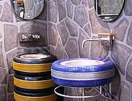 Furniture from tyre