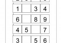 cijfers 1 t/m 10