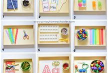 Montessori trays