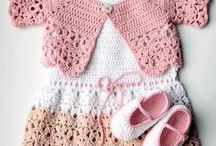 Crochet Baby Garments