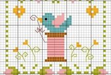 cross stitch spring-summer