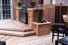 Decks & Outdoor space