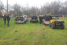 Atv Quad Wolf Riders Cup II. Deň pred .. / 17.1.2014 Deň pred pretekom.  Foto k článku o akcii na :  www.99a.tv/wrc2