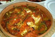 Feta mit tomate im grill