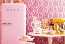 Kitchen Colorful Decorations