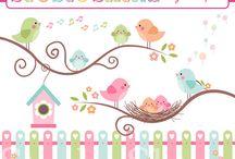 Festa passarinho!
