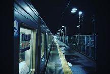 雰囲気が好きな帰り道の駅のホーム。 今度ちゃんと撮ろう。 a aesthetic platform #nightview #platform #snapshot #ホーム写真