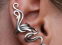 Korvakoruja. Ear...things.