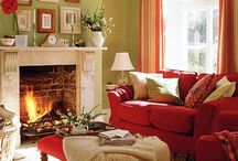 Living rooms - red