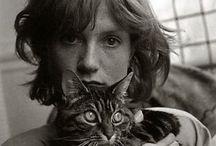 Cat lovers / Photos de personnalités et de leurs chats