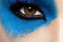 Blue&purple makeup ideas / Makeup#fashion