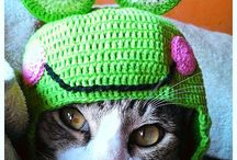 crochet hat for cat / crochet hat for cat