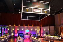 Sports Themed Events / Hockey, baseball, football and basketball event decor!