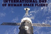 International Day Of Human Space Flight / Cosmonautics Day (International Day of Human Space Flight) is an anniversary celebrated in Russia and some other former USSR countries on April 12. In 2011, April 12 was declared as the International Day of Human Space Flight in dedication of the first manned space flight made on April 12, 1961 by the 27-year-old Russian Soviet cosmonaut Yuri Gagarin. Gagarin circled the Earth for 1 hour and 48 minutes aboard the Vostok 1 spacecraft.