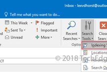 Fix: Outlook 2016 Search is Not Working