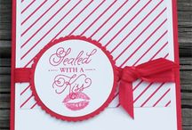 Sending Love Suite Stampin Up! / Stampin Up!, stamping, crafting, hearts, love, valentine's day