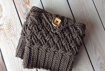 crochet bootcuff