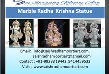 Marble Radha Krishna Statue / Saishradhamoortiart are a experienced radha krishan marble moorti maker in Jaipur India where you find huge collection of Radhey Krishan Statue. Know more visit our website.