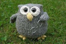 strikket ugle