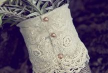 Wedding bouquets and boutonnieres