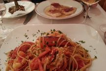 Restaurant / The Hostaria by Vincenzo, is a classic restaurant that serves high-quality fish, and a variety of pasta and meat, from traditional dishes typical Roman.