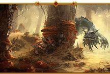 Metal and gaming artwork