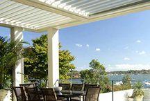 Stunning Flat Roof Vergolas / A range of Flat Roof Vergolas designs to inspire your ideas outdoor area.