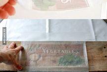 DIY Ideen / Tolle Sachen zum Selbermachen - wenn man mal gaaaanz viel Zeit hat;-)