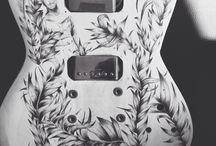 Art guitars