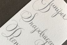 Lettering Styles TCS