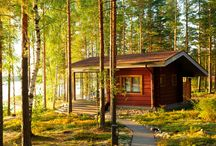 Mökki | Summer Cottages & Holiday Cottages / For Finns, summer generally means getting away from the town and out to a summer cottage, or Mökki. Usually these are close by a lake, or by the sea, and surrounded by forests. ... http://www.discoveringfinland.com/accommodation/holiday-cottages/