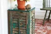 crafts - shutters / by Ann Cothron