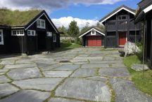 Uteareal hytte