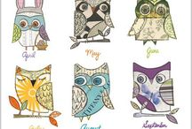 owly owls / by Holly Jennings