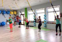 AreYouReady FXF / W AreYouReady siłownia i fitness club ćwiczymy między innymi na taśmach treningowych FXF.
