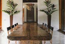 Mesas de comedor en madera