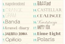Blogging: Fonts