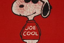 Joe Cool (snoopy) and freinds