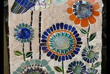 Mosaic Glass Art / by Angela Panzarello