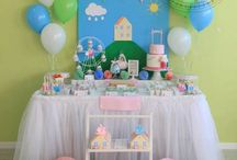 peppa pig b-day party