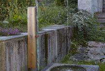 vannkran i hagen