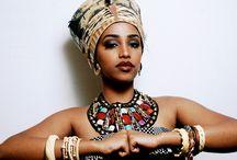 East African girls