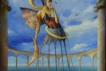 Sztuka współczesna / Kubizm, surrealizm, dada, fantastyka itp.
