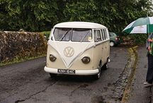 Wedding Day Transport / Get to the church on time with these fun transport options!